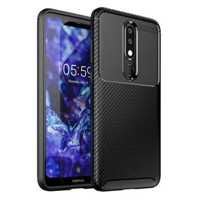 Soft TPU Back Cover Case for Nokia X5 / 5.1 Plus