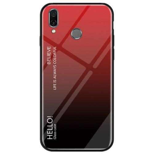 hot sale online f031b c52ae Gradient Tempered Glass Case for Huawei Honor Play