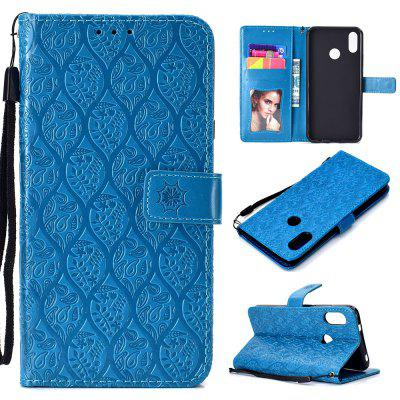 Leather Wallet Stand Flip Case for Xiaomi Mi A2 Lite