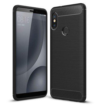 Luxury Carbon Fiber Soft Case for Xiaomi Redmi Note 5