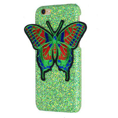 Knitting butterfly for iPhone 6 / 6S Case Glitter Cover