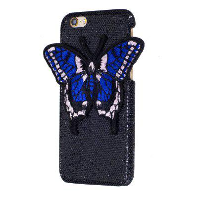 Knitting butterfly dla iPhone 6 / 6S Plus etui Glitter Cover