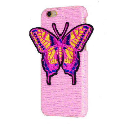 Farfalla per maglieria per iPhone 6 / 6S Plus Custodia Glitter Cover