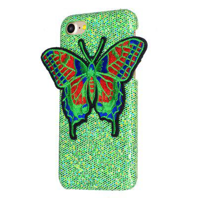 Knitting butterfly for iPhone 8 Case Glitter Cover