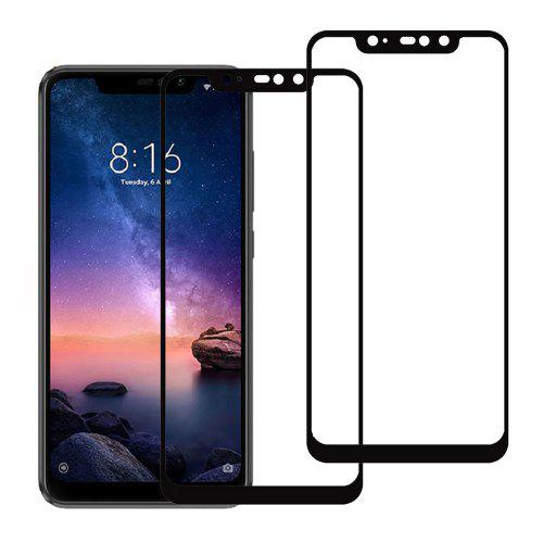 2PCS Tempered Glass Screen Protector for Xiaomi Redmi Note 6 Pro 6.26 inch