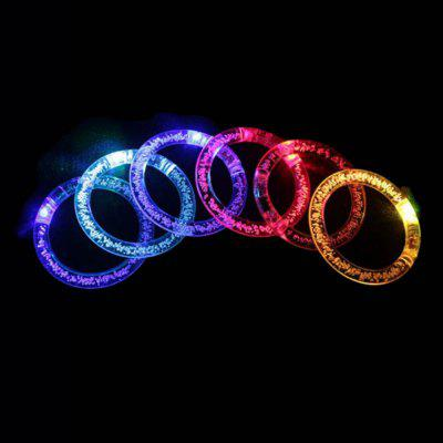 6 Pieces Colorful Glow Bracelets for Party