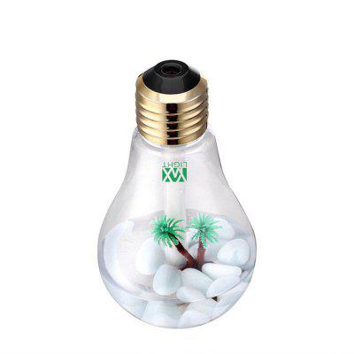 YWXLight Creative USB Mist Humidifier Home Mini Colorful LED Night Light Bulb