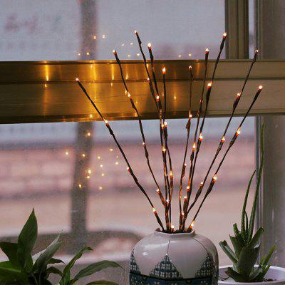 YEDUO LED Willow Branch Lamp Floral Lights 20 Bulbs Home Christmas Party Decor