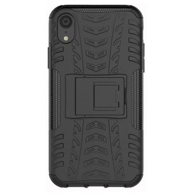 Shockproof Back Cover Rüstung Hard Silikonhülle für iPhone XR