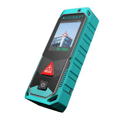 Mileseey T7 Bluetooth Laser Rangefinder with Rotary Touch Screen Meter