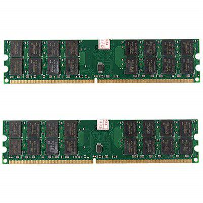 8 GB 2 x 4 GB DDR2 PC2-6400 800MHz 240Pin AMD DIMM Hgih Density Desktop pamäť