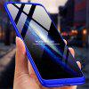 3 in 1 Full Protection Ultra Slim PC Hard Case for Xiaomi Pocophone F1 - BLUE