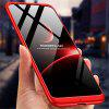3 in 1 Full Protection Ultra Slim PC Hard Case for Xiaomi Pocophone F1 - RED