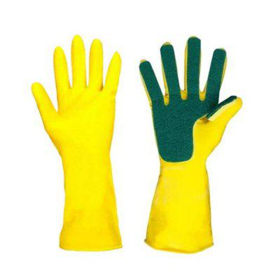 Creative Home Wash Cleaning Kitchen Supplies Sponge Finger Household Gloves