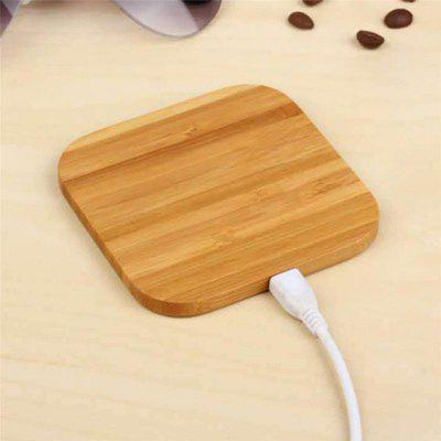 Qi Wood Grain Wireless Charger Charging Board
