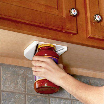 Jar Opener for Under The Kitchen Cabinet Counter Bag Bottle