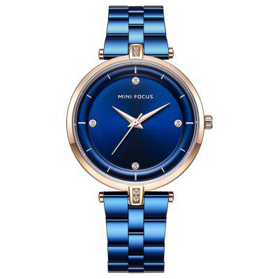MINI FOCUS Women Fashion Stainless Steel Ladies Luxury Exquisite Watches
