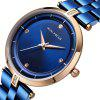 MINI FOCUS Women Fashion Stainless Steel Ladies Luxury Exquisite Watches - BLUE