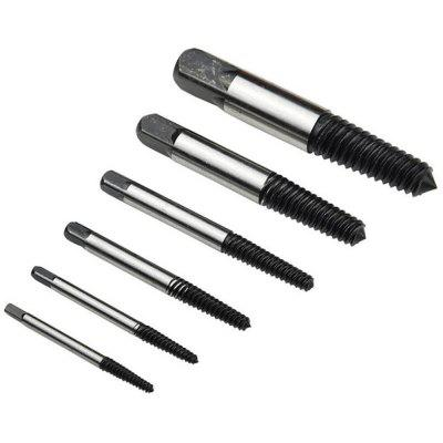 6PC Broken Head Screw Extractors