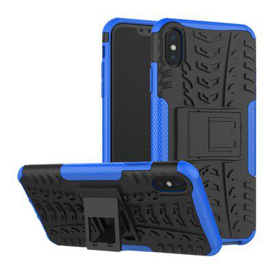 Shockproof Back Cover Rüstung Hard Silikonhülle für iPhone XS max