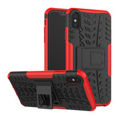 Shockproof Back Cover Armor Hard Silicone Case for iPhone XS Max