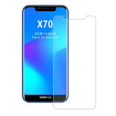 2.5D 9H Tempered Glass Screen Protector Film for DOOGEE X70