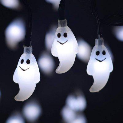 Battery Operated LED Fairy String Lights 20 Ghost Lights Christmas