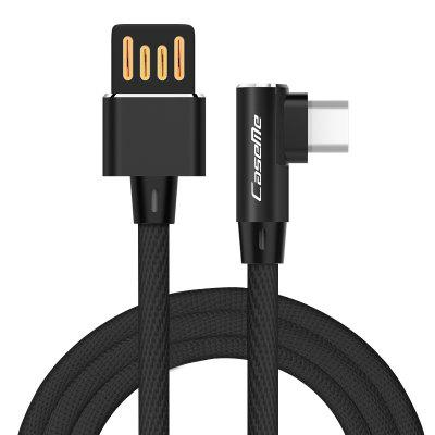 CaseMe 1.0M USB Cable Android Elbow Fast Charging Data Cable for Samsung HUAWEI