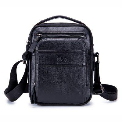 Leder Männer Single Shoulder Diagonal Bag Limelight Leder Herren Tasche