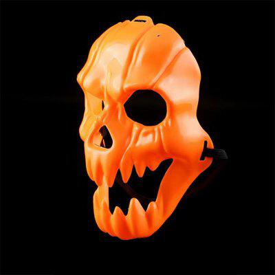 Pumpkin Halloween Fright Mask Parties Bars Nightclubs Frightened Plastic Mask