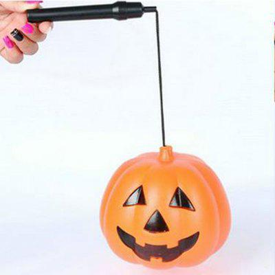 Easter Halloween Glowing Pumpkin Lantern Witch Costume Props for Cosplay Props L