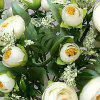 Saturna Silk Home Decoration Branch of Artificial Flowers - MULTI