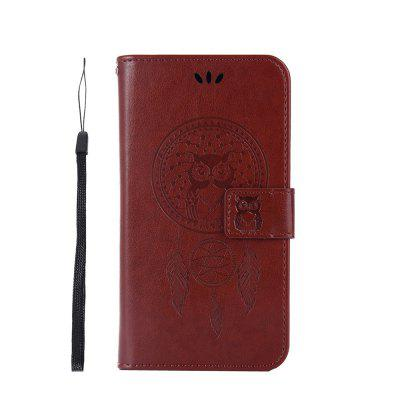 Dandelion Embossed Mobile Phone Case Protective Cover for MOTO E5 Play GO