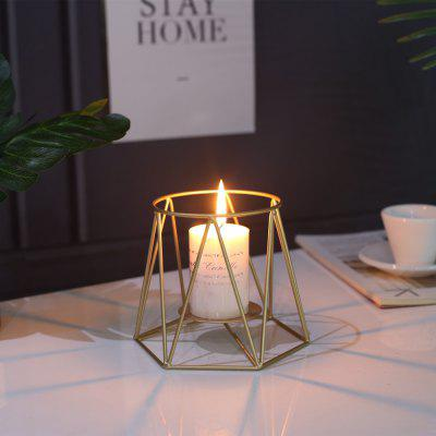 Modern Style Candle Holder Metal Candlestick Wedding Party Decorations