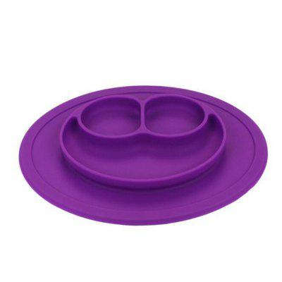 Kids Silicone Placemat Plate Dish Food Tray Table Mat for Baby Toddler