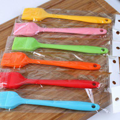 Grill Oil Brushes Tool Heat Resisting Silicone Cleaning Basting Oil Brush