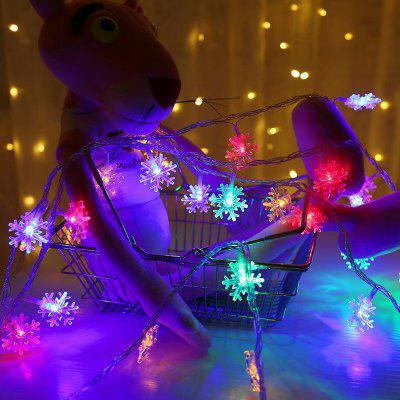 Christmas Indoor Outdoor LED Snowflake Lights