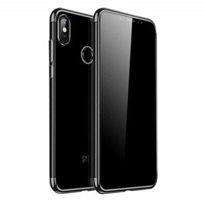 Slim Shock Clear TPU Plating Case Cover for Redmi Note 5 Pro