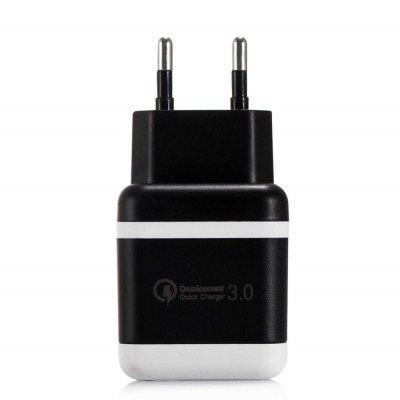 QC 3.0 5V/3A Power Adapter Fast Charger for Xiaomi / Huawei / Samsung / iPhone