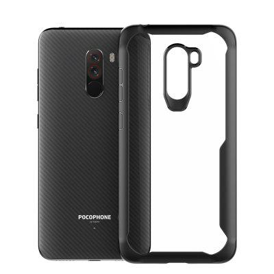 Full Protective TPU and Acrylic Transparent Case for Xiaomi Pocophone F1
