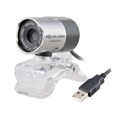 Hd Webcam Digital Camera for Desktop Pc Laptop Skype MSN