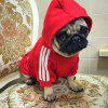 Pet Clothes for Dog Cat Puppy Hoodies Coat Winter Sweatshirt Warm - RED