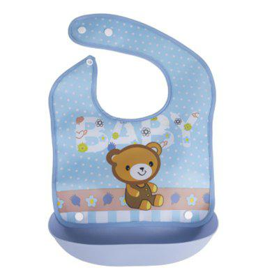 New Children'S Detachable Waterproof Eating Bib