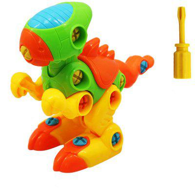 With Tools Dinosaurs Construction Engineering STEM Learning Toy Building