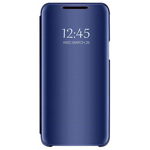 buy online 6cc4f a655e Mirror Flip Leather Clear View Window Smart Cover Case for Huawei Honor 8X
