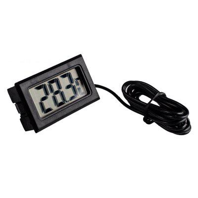 Digital Display Thermometer With a Probe Line 1 M Long