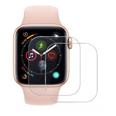 2PCS 0.26mm Gehard Glas Screen Protector voor Apple Watch Series 4 44mm