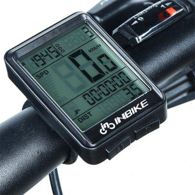 INBIKE Bike Computer Waterproof Stopwatch Bicycle Speedometer Digital Odometer