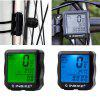 INBIKE Bike Computer Waterproof Stopwatch Bicycle Digital Speedometer Odometer - GREEN