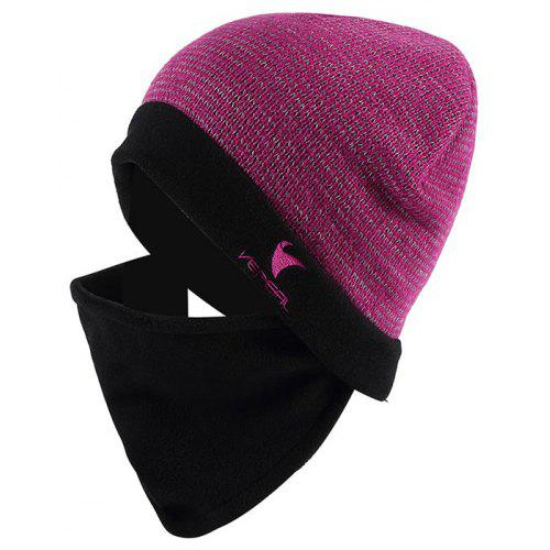 VEPEAL Winter Unisex Wool Mohair Knit Hat Bib Face Protection Ski ... ae87965634e0